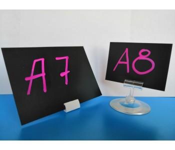 Меловая табличка-ценник А4 прямой угол