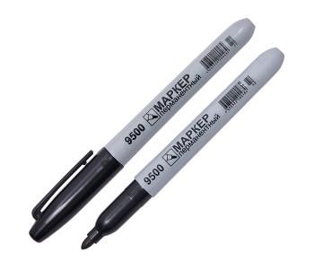 Маркер перманентный (нестираемый) арт. МС 9500 , круглый наконечник, 1,5-3 мм.