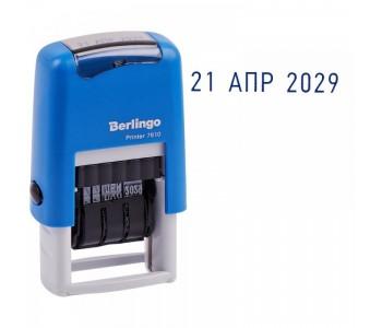 "Датер автомат ленточный Berlingo ""Printer 7810"" 1стр., 3мм, блистер"