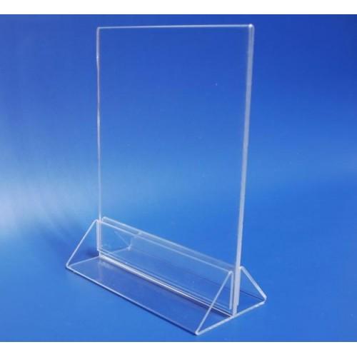 Менюхолдер А4 тейбл-тент подставка пластиковая